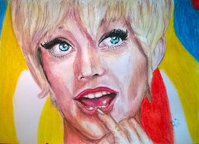 Goldie Hawn by Toyscape